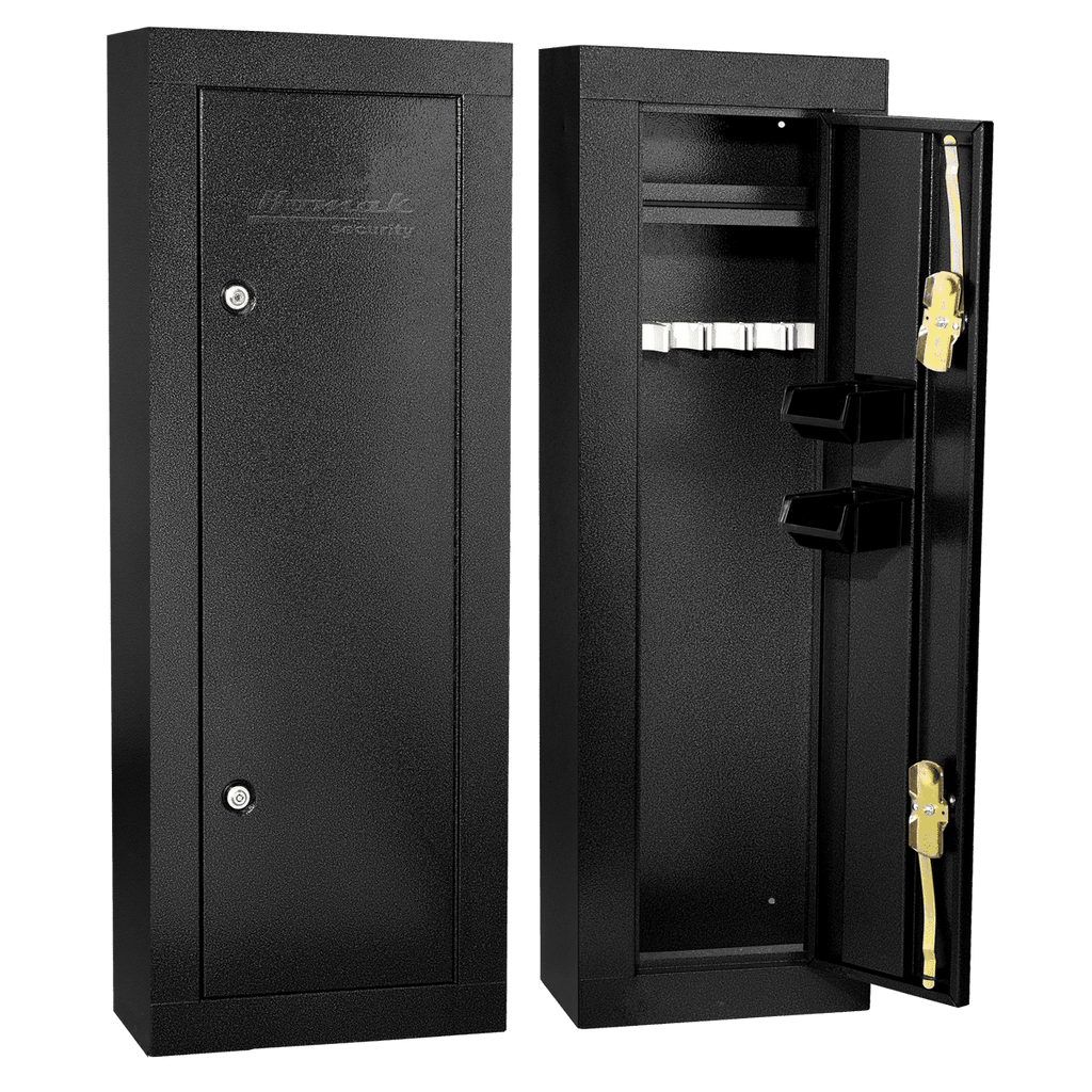 Gun Security Cabinet >> Buy Homak Hs30103605 6 Gun Security Cabinet Online Blackstone Safes