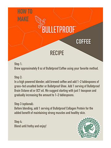 Image of Bulletproof® The Original Whole Bean Coffee - 12oz from KetoCoffee