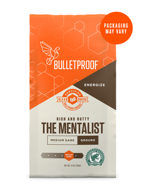 Bulletproof® The Mentalist Dark Roast Ground - 12oz from KetoCoffee