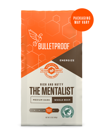 Bulletproof® The Mentalist Dark Roast Whole Bean - 12oz from KetoCoffee