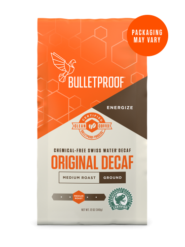 Bulletproof® The Original Ground Decaf Coffee - 12oz from KetoCoffee
