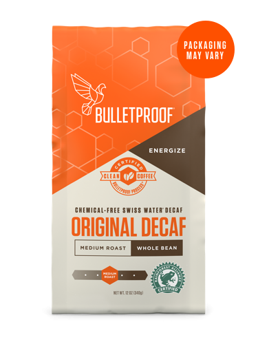 Bulletproof® The Original Whole Bean Decaf Coffee - 12oz from KetoCoffee