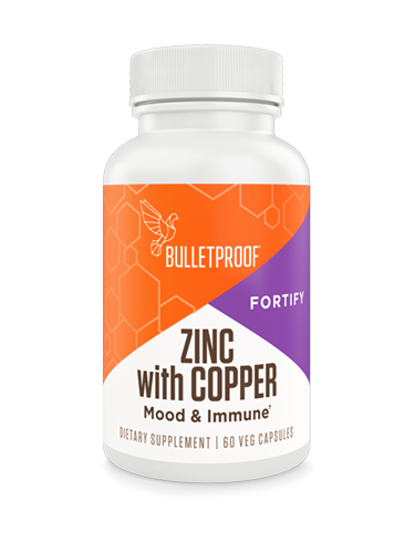 Zinc with Copper