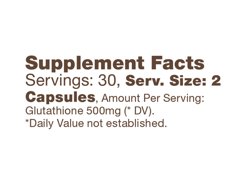 Image of Bulletproof® – Glutathione Force - 60 Ct