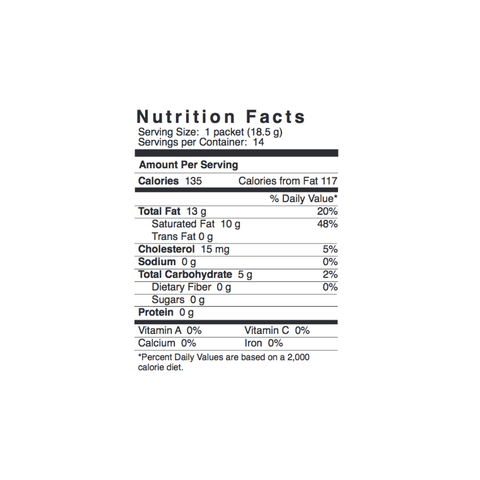 Image of Label of Bulletproof® Instamix from KetoCoffee