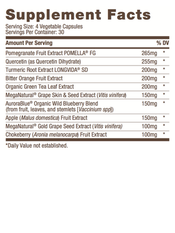 Image of Label of Bulletproof® Polyphenomenal 2.0 - 120 Ct from KetoCoffee