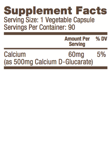 Bulletproof® – Calcium D-Glucarate - 90 Ct
