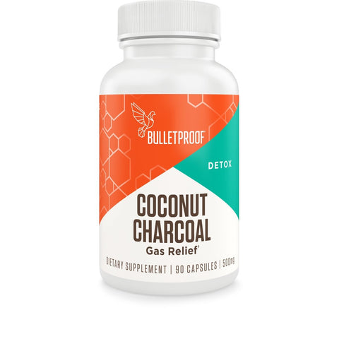 Image of Bulletproof® – Coconut Charcoal - 90 Ct