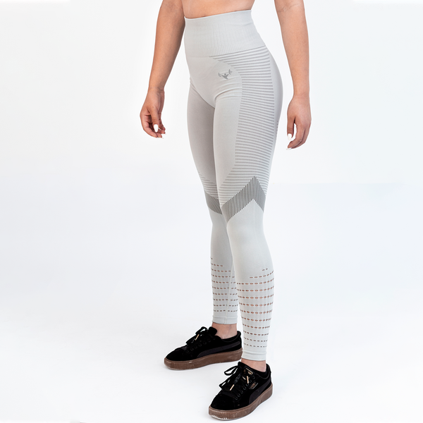 Seamless Gray Ultra Soft Workout Leggings