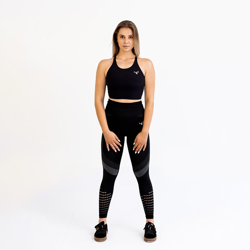Seamless Black Ultra Soft Workout Leggings