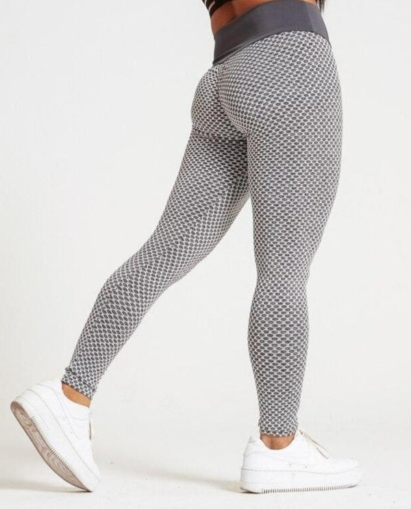 Mesh Ruched High Waist Lifting Leggings