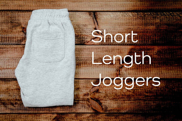 Short Length Joggers for Men