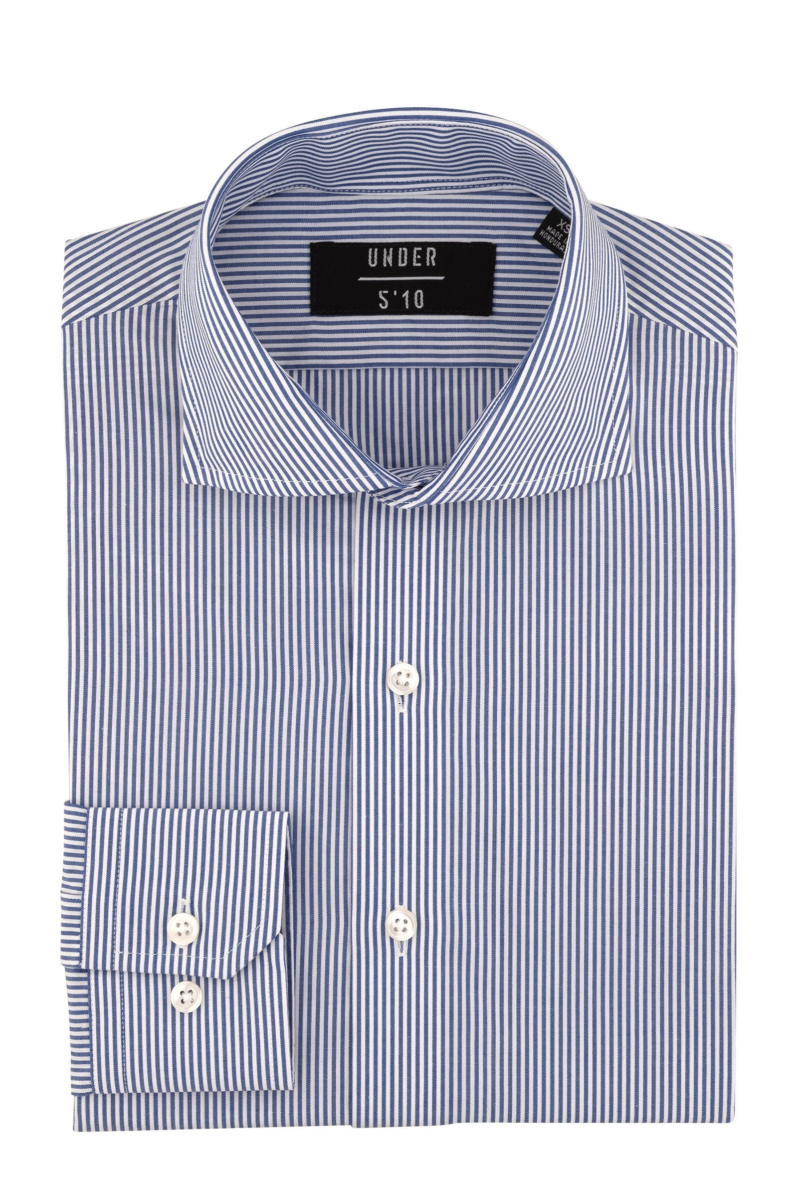Blue Bengal Stripe Dress Shirt