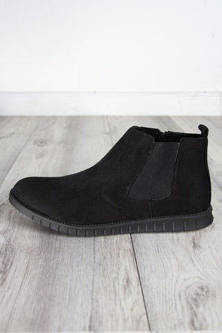 Vegan Blue Rain Boot