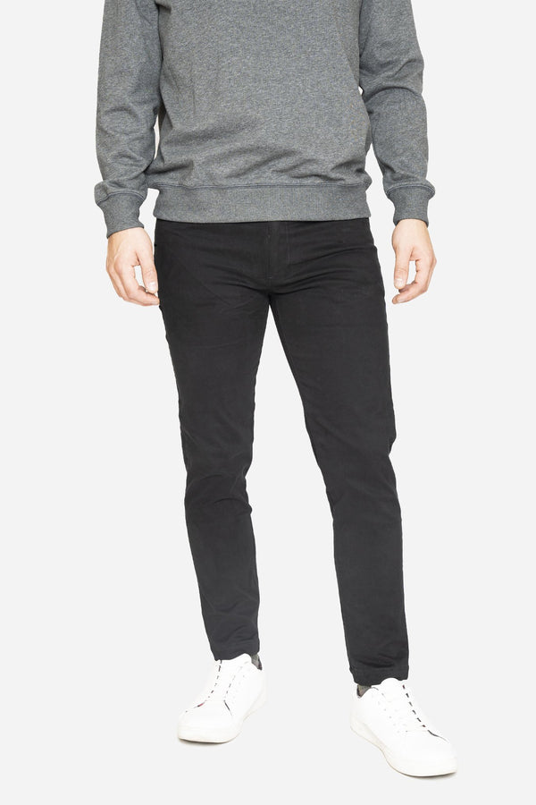 Simon 2.0 Black Chino Pants Aztex 30 26