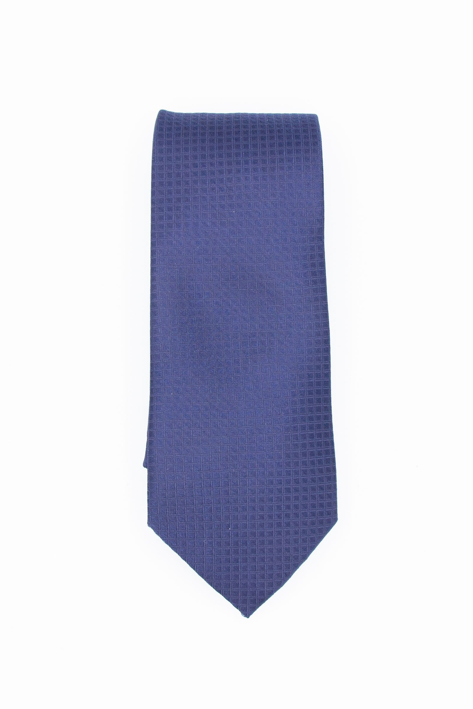 Silk Tie Blue Diamonds
