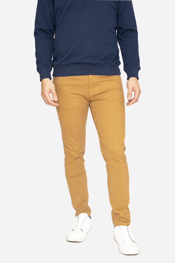 Simon 2.0 Camel Chino Pants Aztex 30 26