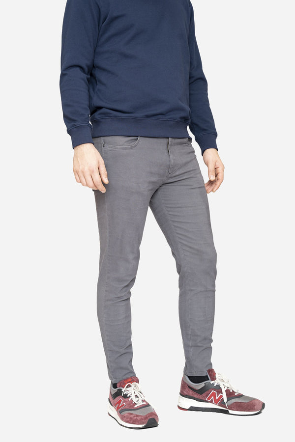 Simon 2.0 Charcoal Chino Pants Aztex