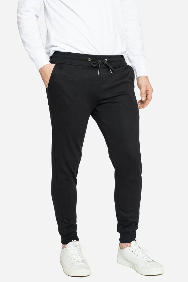 French Terry Jogger Sweatpants Black Pants Velland 28 26