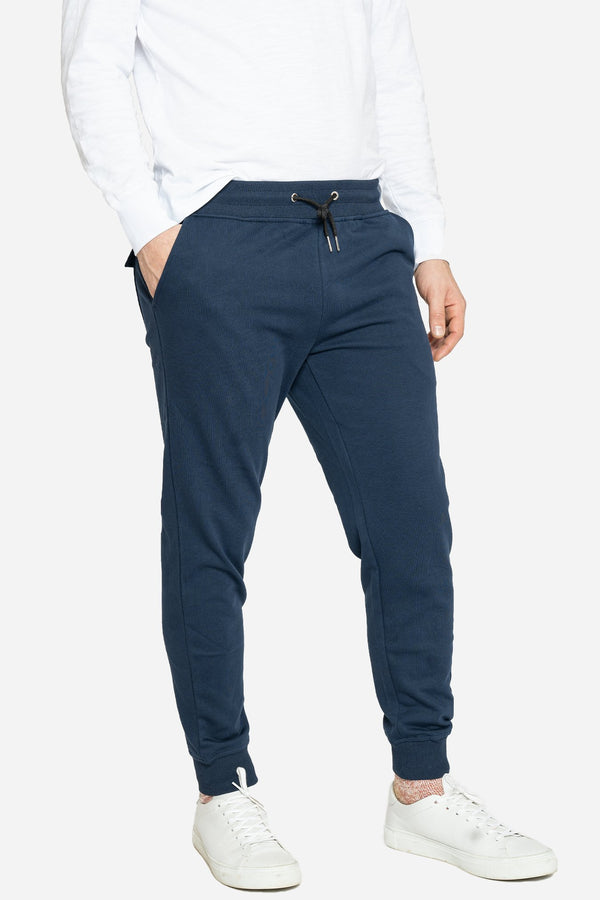 French Terry Jogger Sweatpants Navy Pants Velland