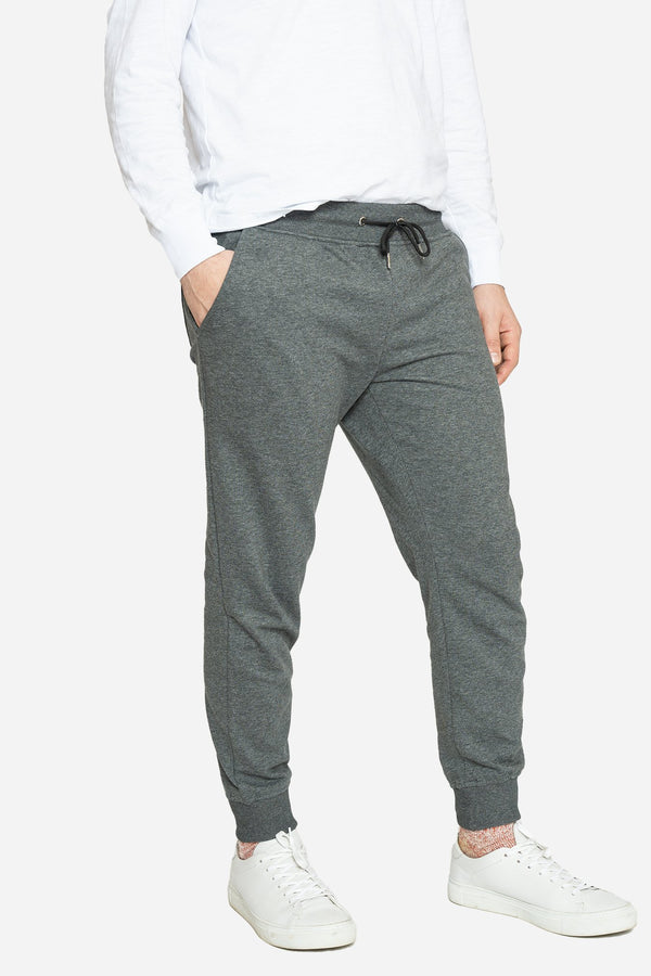 French Terry Jogger Sweatpants Charcoal Pants Velland