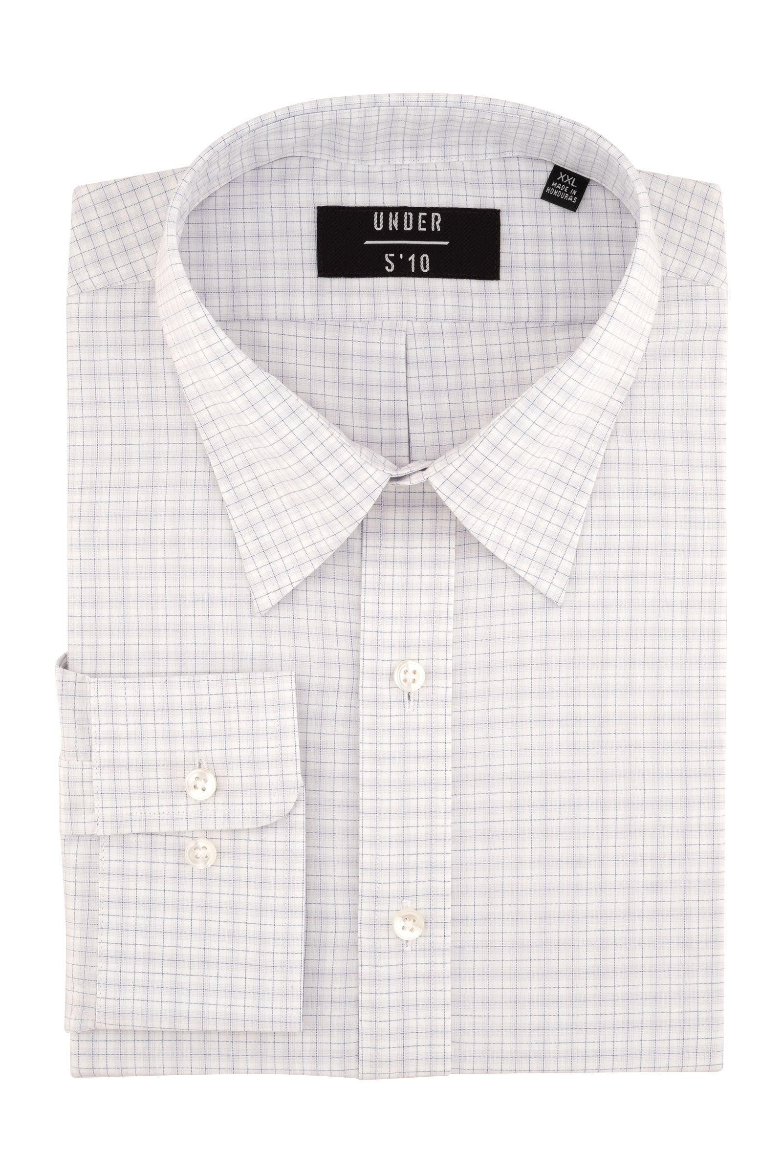 Gray Tattersall Button Down Shirt