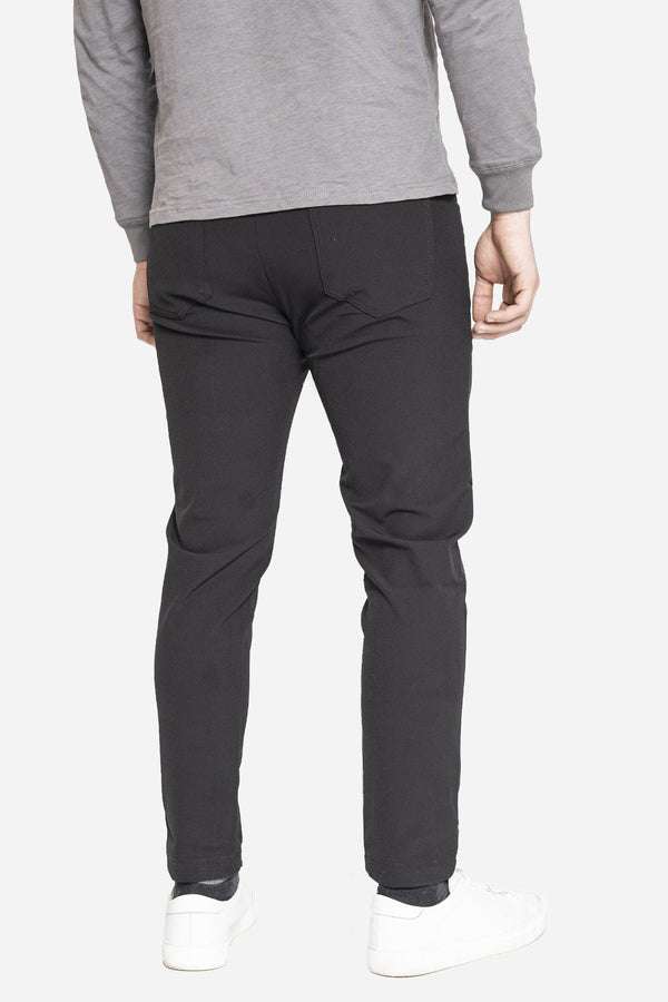 Jon 2.0 Performance Pants 5 Pocket Black Performance Pants Aztex