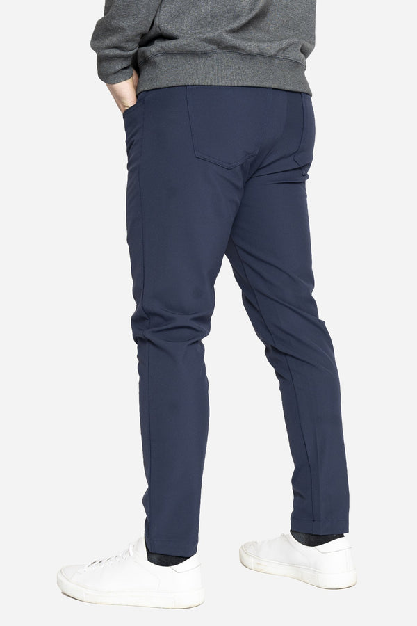 Jon 2.0 Performance Pants 5 Pocket Blue Performance Pants Aztex