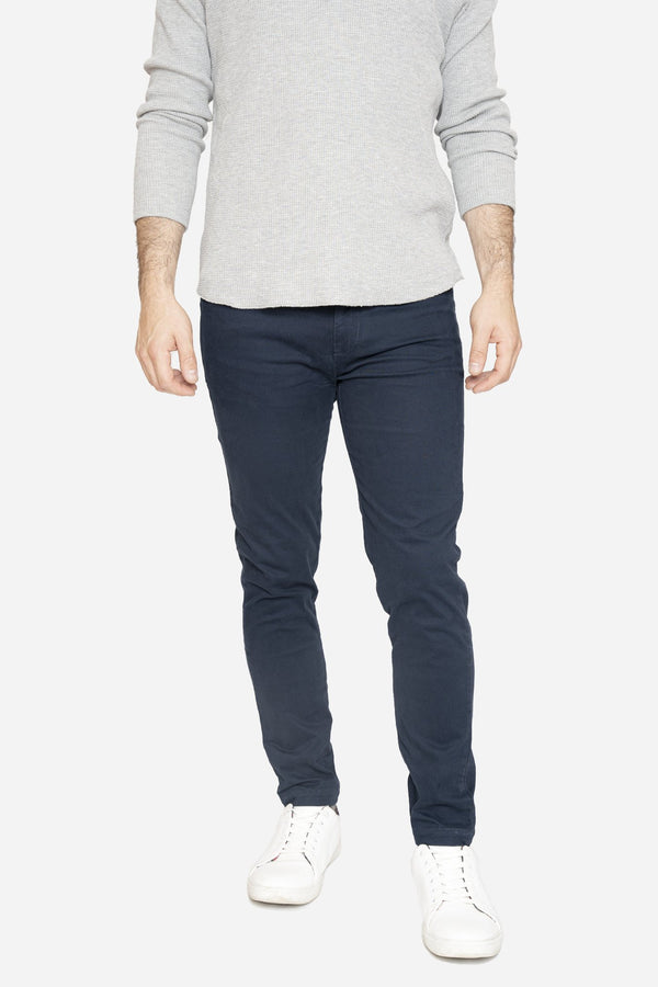 Simon 2.0 Navy Chino Pants Aztex 30 26