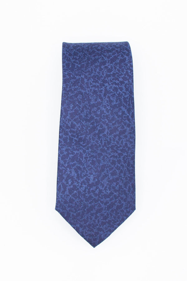 Silk Tie Ocean Blue Ties Under 5'10