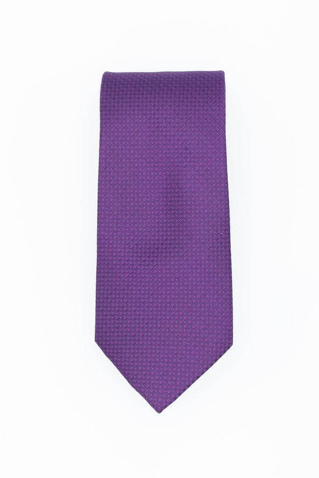 Perfectly Purple Men's Silk Tie