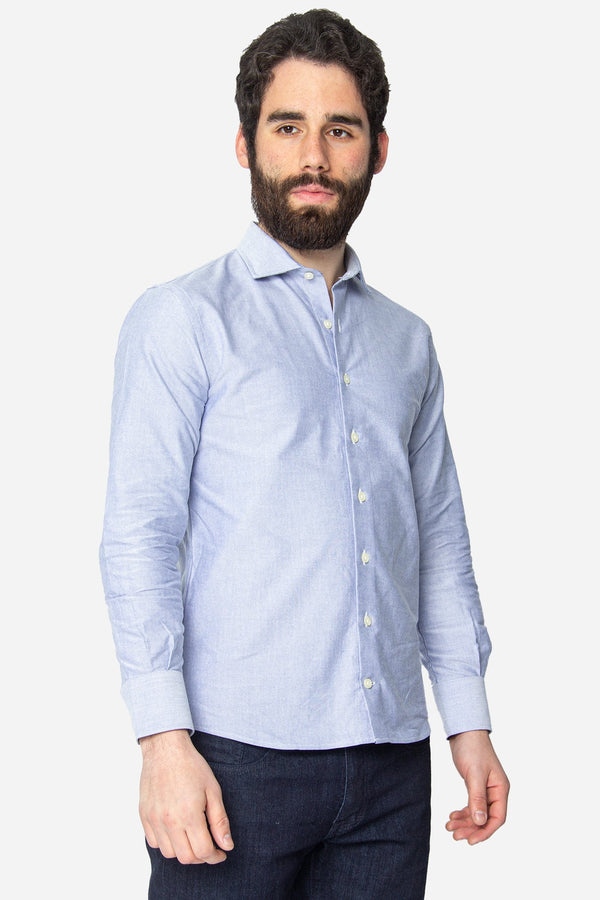 Button Down Dress Shirt Royal Blue Slub Pinpoint Oxford Button Down Shirt Lianfa