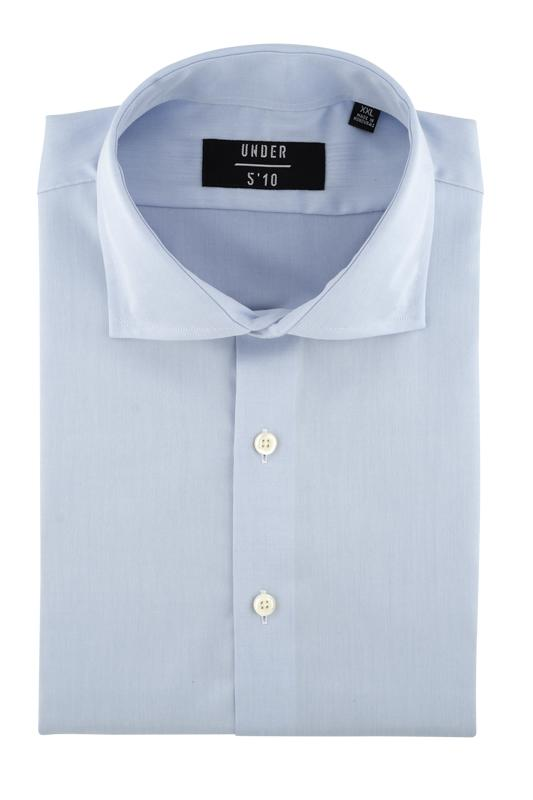 Solid Light Blue Button Down Dress Shirt