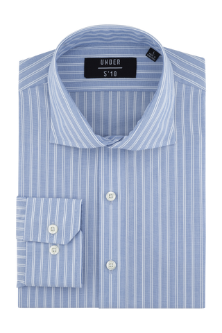 Light Blue Poplin Dress Shirt