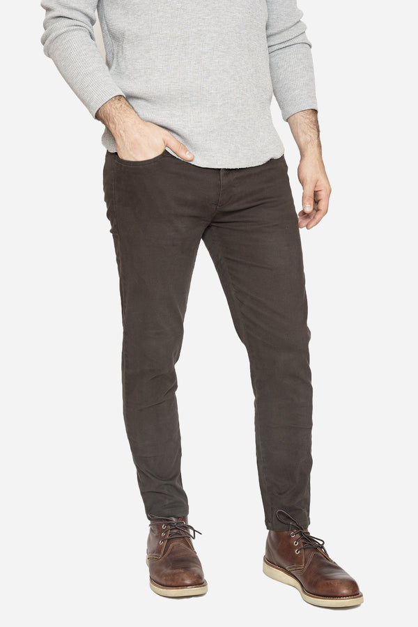 Simon 2.0 Espresso Brown Chino Pants Aztex 30 26