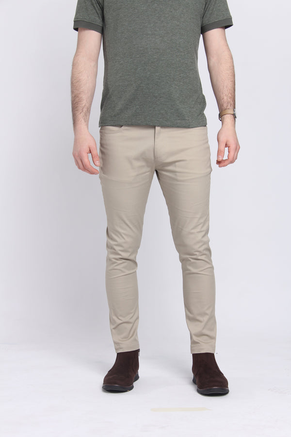 The Getaway Chino Khaki Chino Under 5'10