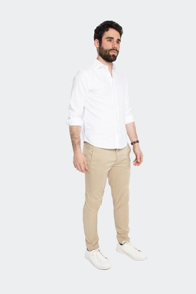 Felix Flex Slim Tapered Fit Performance Pant Khaki Heather Pants Under 5'10
