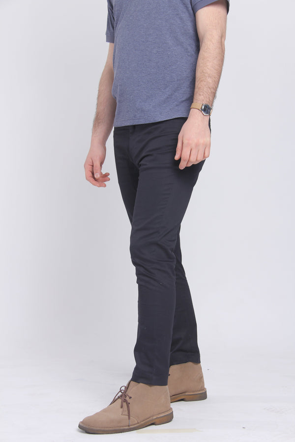 The Getaway Chino Navy Chino Under 5'10