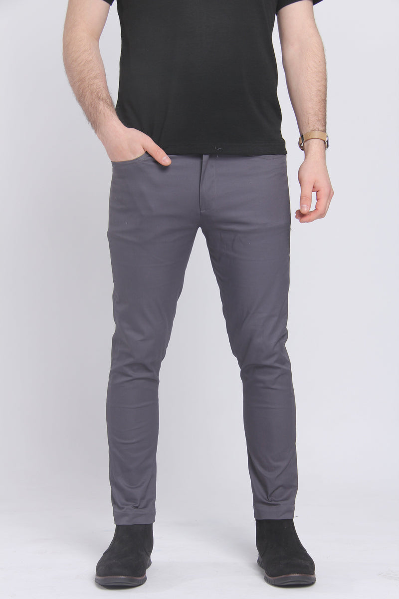 The Getaway Chino Charcoal Chino Under 5'10 30 x 26