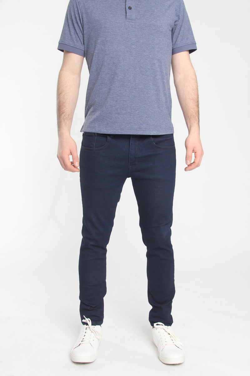 Kingston 2.0 Slim Tapered Xtreme Stretch Jeans Indigo Jeans Under 5'10