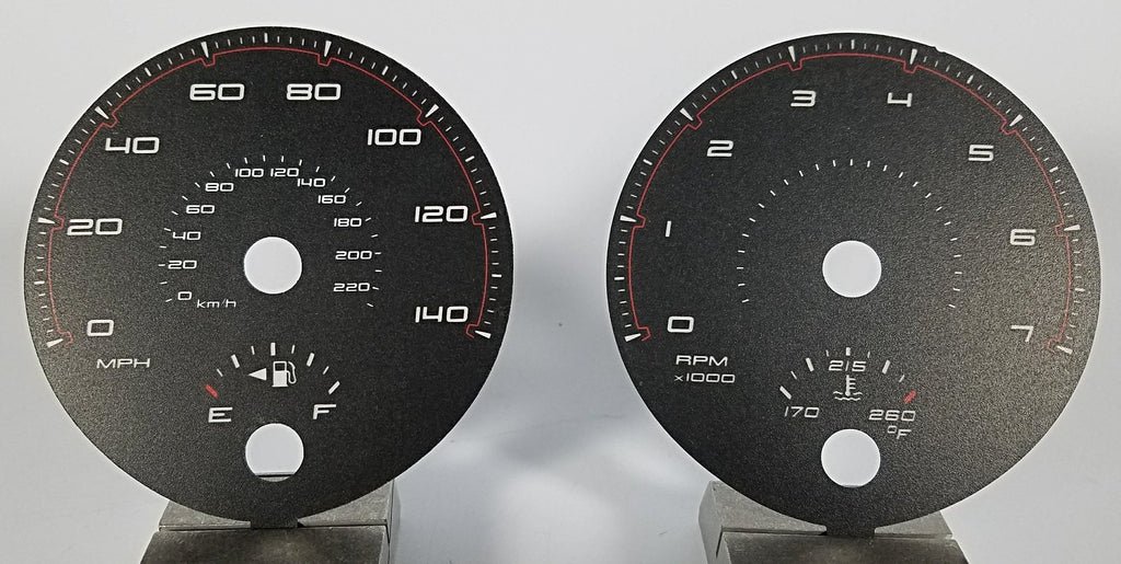 2011-2014 Dodge Charger Base 140 MPH Conversion Gauge Face