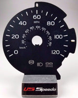 2015-2017 Ford F150 Lariat MPH Gauge Face fits F150 with 8 inch info screen.