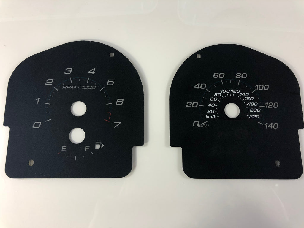 2013-2016 Ford Taurus 2013-2016 Ford Flex Base Model Speedometer Conversion Gauge Face MPH