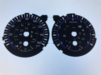 2013-2016 Infinity QX60 speedometer conversion gauge face 160 MPH