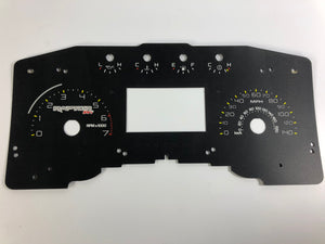 2011-2014 Ford F150 Raptor SVT Speedometer Conversion Gauge face