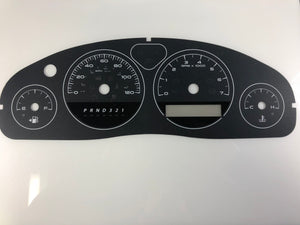 2005-2010 Pontiac Montana Speedometer Conversion Gauge face