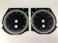 2015-2016 Nissan Titan MPH Conversion Gauge Face (Gas)