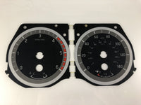 2015-2016 Nissan Titan MPH Conversion Gauge Face (Diesel)