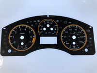 2008-2013 Nissan Titan MPH Conversion Gauge Face