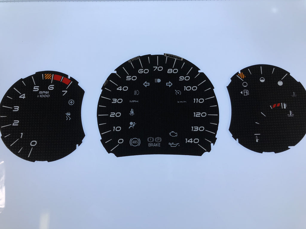 2006-2008 Pontiac Grand Prix MPH Conversion Gauge Face